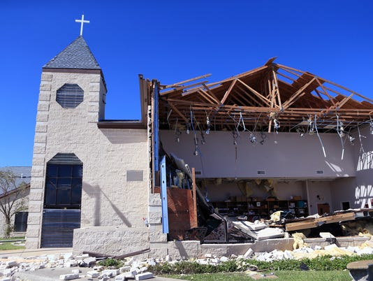 Editorial: Trump's right -- churches should be eligible for disaster aid