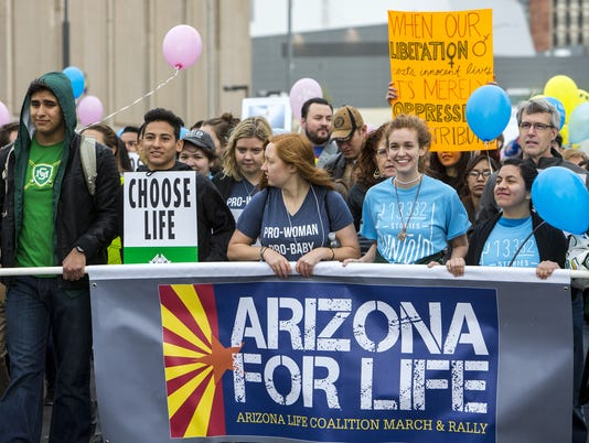 Arizona for Life March and Rally