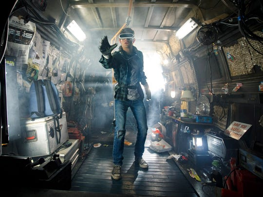 Tye Sheridan is a teen who escapes his dystopian reality for a virtual one in 'Ready Player One.'