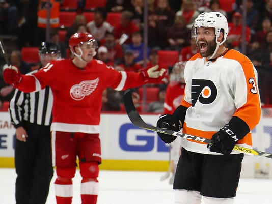Philadelphia Flyers v Detroit Red Wings