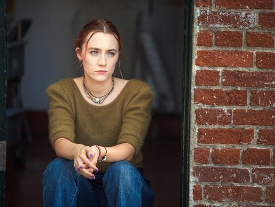 "Saoirse Ronan in a scene from ""Lady Bird."""