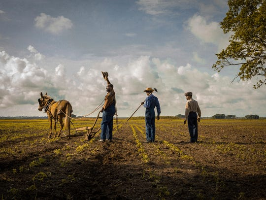 A scene from 'Mudbound' shows the painterly sensibility
