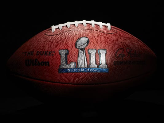 AP SUPER BOWL FOOTBALLS S FBN USA OH
