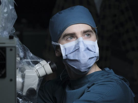 Freddie Highmore is Dr. Shaun Murphy in 'The Good Doctor.'