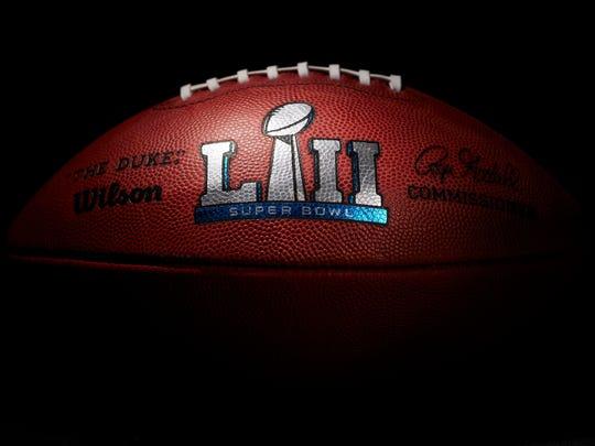 Balón oficial del Super Bowl LII.