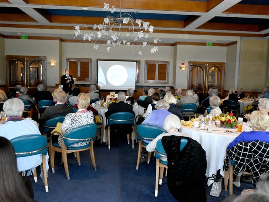 Naples Community Church hosted a luncheon on Jan. 19 at the Naples Sailing & Yacht Club, to present a talk on human trafficking prevention.