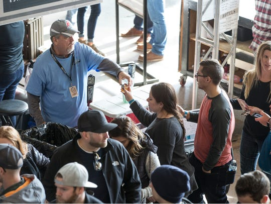 The Asbury Park Beerfest gets underway at Convention
