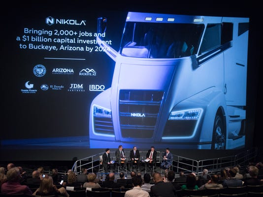 Nikola Motor Company coming to Arizona