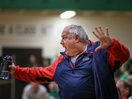 John Mielke coached at Appleton East for 18 years before resigning.