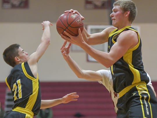 Waupun coach Dan Domask said an obvious strength of the Waupun basketball program is his son and leading scorer, Marcus Domask.