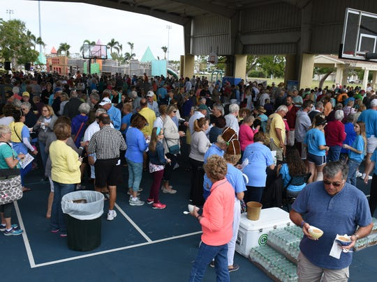 The Marco Island Area Chamber of Commerce held its sixth annual Souper Bowl on Saturday, raising money for scholarships while giving attendees the chance to sample soups from area eateries.