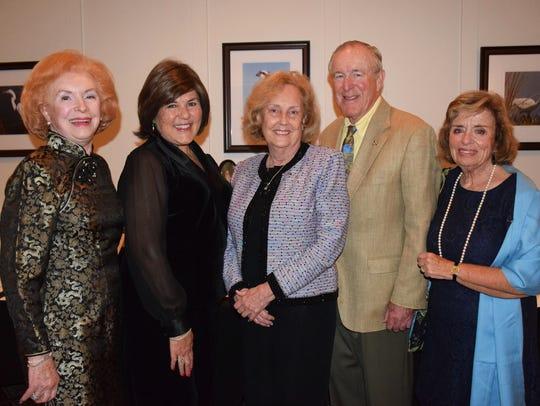 June Bercaw, left, Gerri Smith, Diana Stark, and John