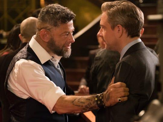 'Black Panther' brings together Andy Serkis (left)