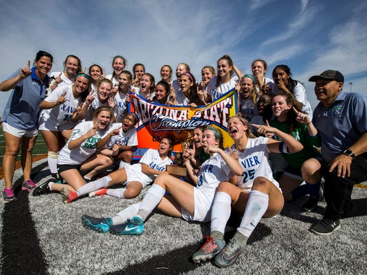 6A girls soccer state championship