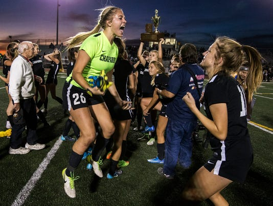 5A girls soccer state championship