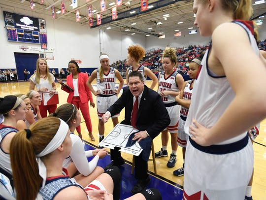 University of Southern Indiana head coach Rick Stein