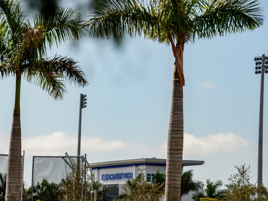 The swaying palm trees of IMG Academy belie the anxiety