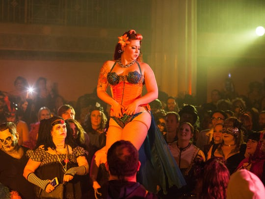 Burlesque entertainer Lushes Lamoan will perform at