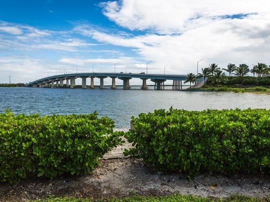 The S.S. Jolley Bridge on Wednesday, Oct. 7, 2015, on Marco Island.