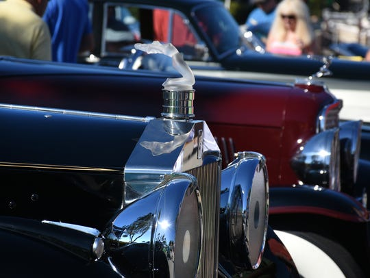 File: Sal Campo displayed both his 1954 Rolls Royce Silver Wraith, and his 1933 Auburn 12-cylinder at the 2018 show.