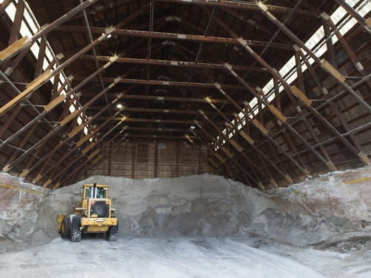 Town of Greece salt barn (February 2015)