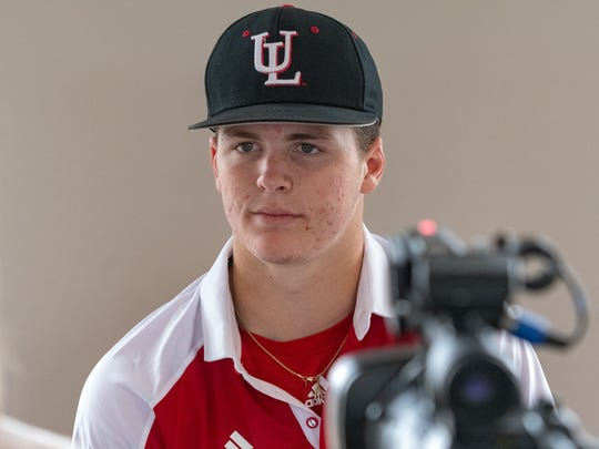 Teurlings Catholic High product Hayden Cantrelle is UL's new starting shortstop.