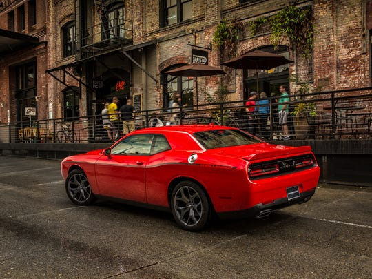 The 2018 Dodge Challenger.