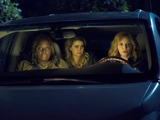 Retta as Ruby Hill, Mae Whitman as Annie Marks, Christina