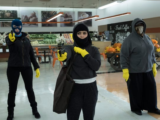 When Beth (Christina Hendricks), Annie (Mae Whitman) and Ruby (Retta) decide to hold up a grocery store, they get more than they bargained for.