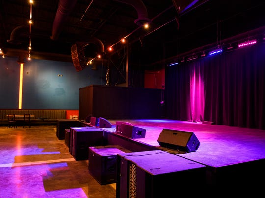 The Firmament, a new music venue in Greenville, on Thursday, Feb. 22, 2018. The club will have its grand opening this weekend.