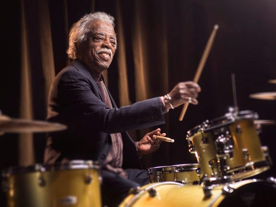 "It has taken more than five years to research and refine, but ""Cincinnati King,"" about Cincinnati's legendary King Records, will have its world premiere during the Playhouse in the Park's 2018-2019 season. Pictured here is King Records session drummer Philip Paul. He will not appear in the Playhouse production."