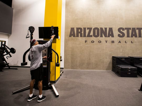 Arizona State football head coach Herm Edwards works