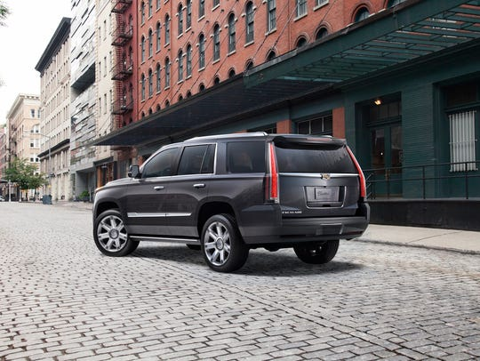 The Cadillac Escalade.