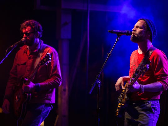 Dr. Dog perform during McDowell Mountain Music Festival