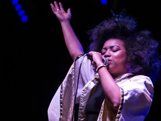 Seratones perform during McDowell Mountain Music Festival