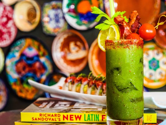 Toro: The green bloody mary at Toro Latin Restaurant