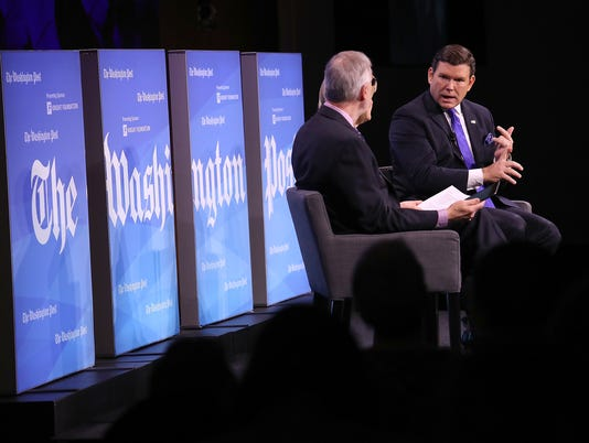 Washington Post Holds Forum On Fake News And The Media