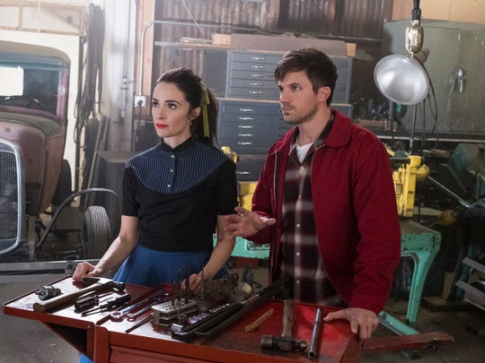 Darlington Speedway circa 1955 is a locale for a mission involving Lucy (Abigail Spencer) and Wyatt (Matt Lanter).