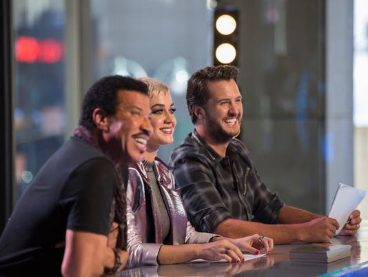 LIONEL RICHIE, KATY PERRY, LUKE BRYAN