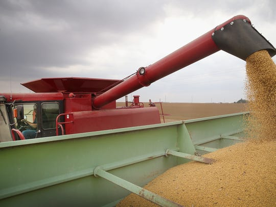 Almost 2.2 million acres in Mississippi were harvested