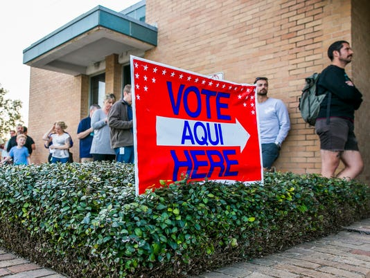 Texas Voters Head To Polls For First Primary For 2018 Midterm Elections