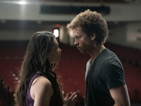 Auli'i Cravalho as Lilette Suarez and Damon J. Gillespie