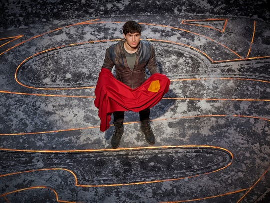 "Cameron Cuffe as Seg-El on ""Krypton."""