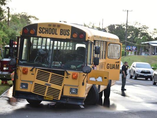 School bus accident