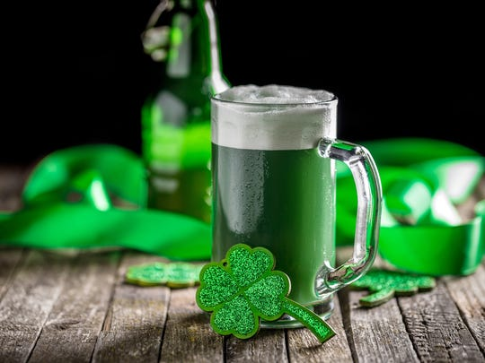 Beer, green or otherwise, will be flowing this month to toast St. Patrick's Day.