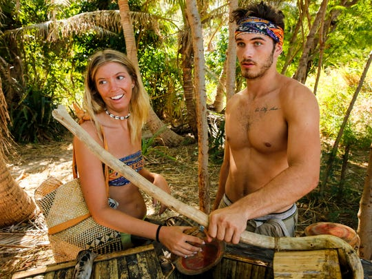 "Jenna Bowman and Michael Yerger on ""Survivor: Ghost Island."""
