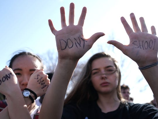 WASHINGTON, DC - FEBRUARY 21:  Students participate