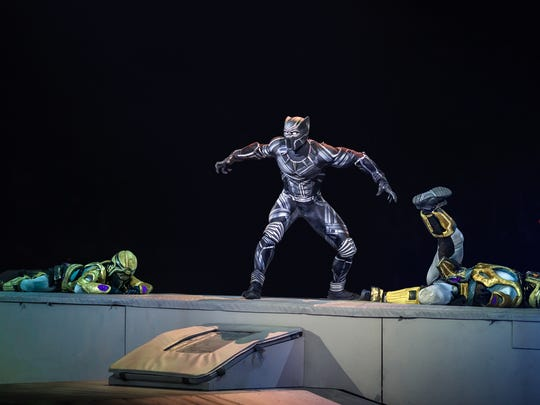 Black Panther pounces in Marvel Universe Live! Age of Heroes