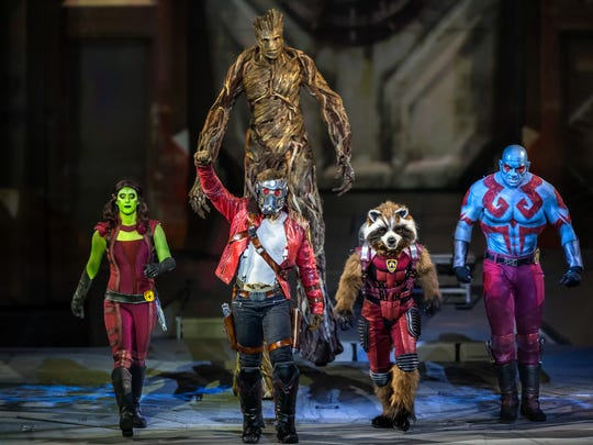 Guardians of the Galaxy are part of Marvel Universe Live! Age of Heroes, at Prudential Center this weekend