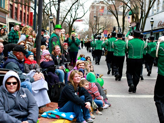 The 35th Annual York Saint Patrick's Day Parade makes